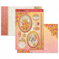 Hunkydory Birth Flowers Card Topper Set August Gladiolus