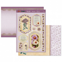 Hunkydory Birth Flowers Card Topper Set September Aster