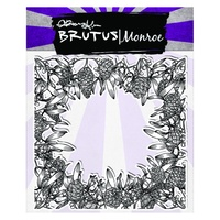 "Brutus Monroe Clear Stamp 5.75x5.75"" Pine & Berry"