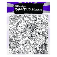 "Brutus Monroe Clear Stamp 5.75x5.75"" Tangled Ornaments"