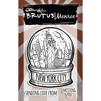 "Brutus Monroe Clear Stamp 3x4"" City Sidewalks New York City"