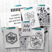 Concord & 9th Die & Stamp Bundle July 2018 Release Collection