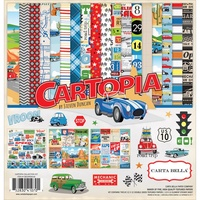"Carta Bella 12x12"" Collection Kit Cartopia"