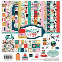 "Carta Bella Pack Your Bags 12x12"" Collection Kit"