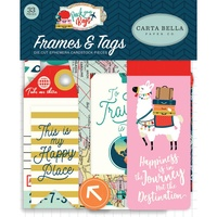 Carta Bella Pack Your Bags Ephemera Frames & Tags