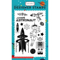 "Carta Bella Stamps 4x6"" Space Academy Collection Junior Astronaut"