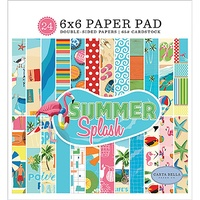 "Carta Bella Summer Splash 6x6"" Paper Pad 24pg"