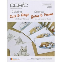 Copic Foundations Book Cats & Dogs by Marianne Walker