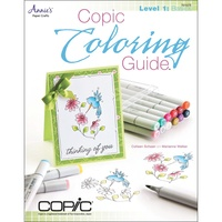 Copic Colouring Guide Book Level 1 : Basics by Marianne Walker
