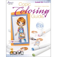 Copic Colouring Guide Book Level 3 : People by Marianne Walker