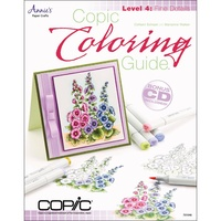 Copic Colouring Guide Book Level 4 : Fine Details by Marianne Walker