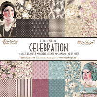 "Maja Designs Celebration 6x6"" Paper Pack"
