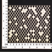 Scrapmatts Chipboard Mesh Diamond Mesh 01    1pc