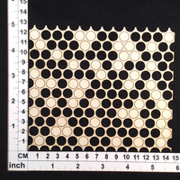 Scrapmatts Chipboard Mesh Circle Mesh 03    1pc