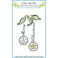 Class Act Stamp Christmas Baubles