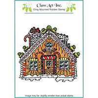 Class Act Stamps Gingerbread House
