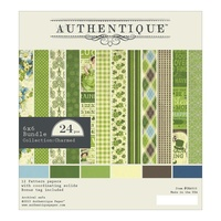 "Authentique 6x6"" Double Sided Cardstock Pad Charmed 24pg"