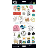Illustrated Faith Elements Stickers Christmas