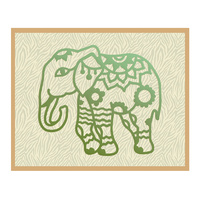 Couture Creations Die Wild & Free Collection Elephant Henna