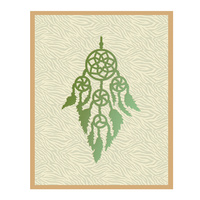Couture Creations Die Wild & Free Collection Feathered Dreamcatcher