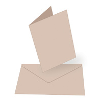 Couture Creations A6 Card & Envelopes Kraft 50pk