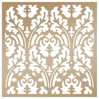 "Couture Creations Stencil 8x8"" Botanical Damask by Anna Griffin"