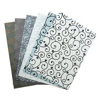 Couture Creations A4 Paper Be Merry & Classic Luxury Embellished Specialty 6pc