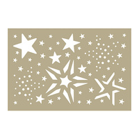 Couture Creations Stencil Be Merry Merry Stars Assortment