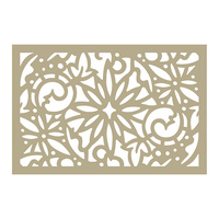 Couture Creations Stencil Be Merry Christmas Damask