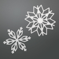 Couture Creations Die Be Merry Layering Snowflakes Set