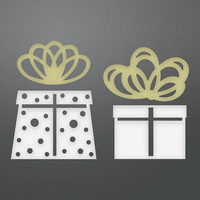 Couture Creations Die Be Merry Christmas Morning Presents Set