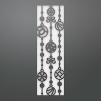 Couture Creations Die Be Merry Falling Bauble Screen