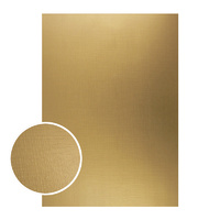 Couture Creations Mirror Foil Board A4 Gold with Draft Lines 10pk
