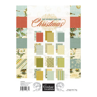 Couture Creations A4 Paper Pad Let Everyday Be Christmas