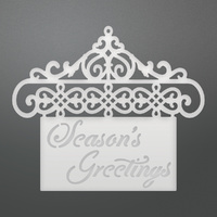 Couture Creations Die Let Everyday Be Christmas Hanging Greetings