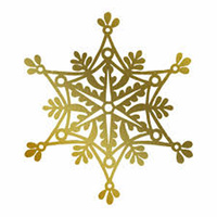 Couture Creations Hot Foil Stamp Snowflake by Anna Griffin