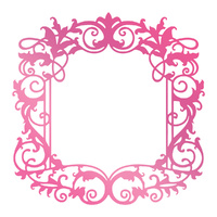 Couture Creations C'est La Vie Hotfoil Stamp Intricate Frame