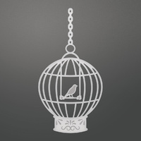 Couture Creations C'est La Vie Decorative Die Bird Cage