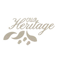 Couture Creations Chipboard Our Heritage Set 7pc