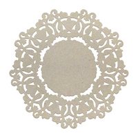 Couture Creations Chipboard Ornate Doily 1pc