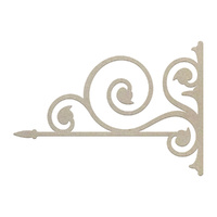 Couture Creations Chipboard Victorian Corner 1pc