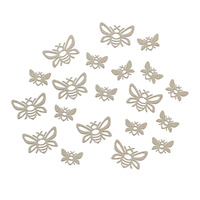 Couture Creations C'est La Vie Chipboard A Hive of Bees Set 20pc