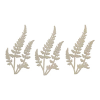 Couture Creations C'est La Vie Chipboard Ferns Set 3pc