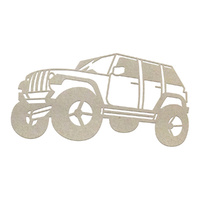 Couture Creations Chipboard Boys Will Be Boys Off Road Vehicle 1pc