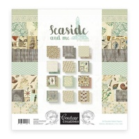 "Couture Creations Seaside & Me 12x12"" Paper Pad 24pg"