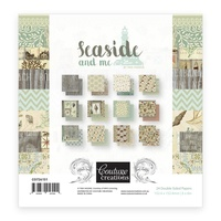 "Couture Creations Seaside & Me 6x6"" Paper Pad 24pg"