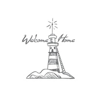 Couture Creations Seaside & Me Mini Stamp Welcome Lighthouse