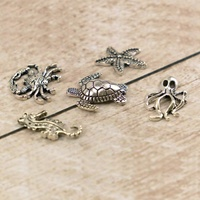 Couture Creations Seaside & Me Charms 6pc