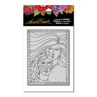 Stampendous Cling Stamp Friendship by Laurel Burch