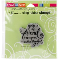 Stampendous Cling Stamp Everyone Wishes
